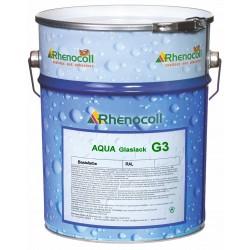 AQUA Glaslack G3 - průhledné metalické zlatá, stříbrná, meď