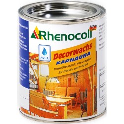Rhenocoll Decorwachs Karnauba, saténový mat