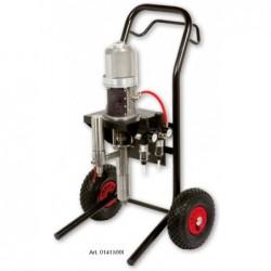 Pumpa K15 nerez na vozíku s dvojitým filtrem