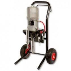 pumpa K30 nerez se stříkací sadou a regulačním filtrem na vozíku